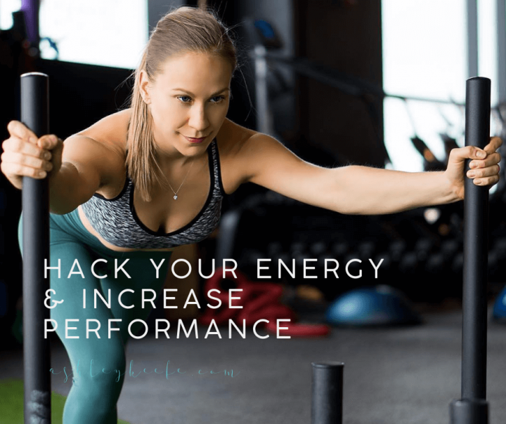 Hack Your Energy and Increase Performance