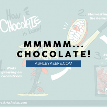 Mmmmm... chocolate! | AshleyKeefe.com